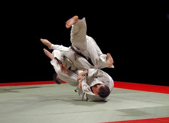 柔道训练展示